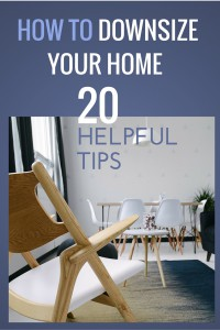 Downsize Your Home Downsizing