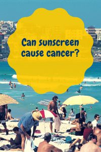 can sunscreen cause cancer