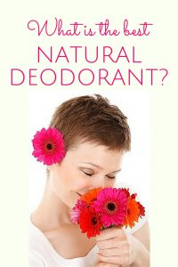 what is the best natural deodorant