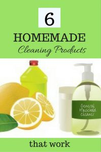 6 homemade household cleaners that work
